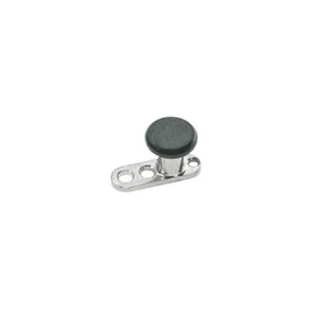 Bijoux micro dermal avec disque noir titane TDADBK