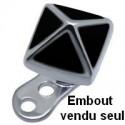 Embout pyramide pour micro dermal acier 316L émaillé TIADK 13