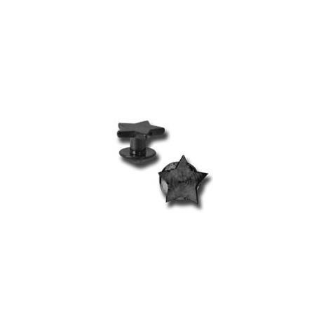 Bijou Skin Diver titane noir avec étoile TDSSBK