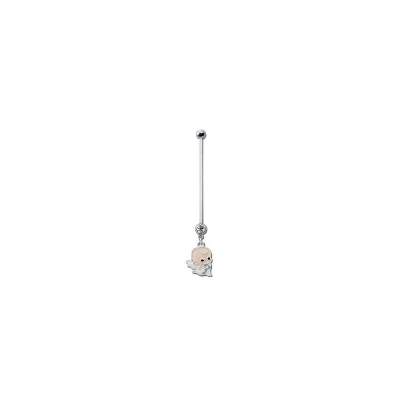 bijou nombril pour femme enceinte motif b b acier 316l barre ptfe fpbn 2 catalogue bijoux. Black Bedroom Furniture Sets. Home Design Ideas