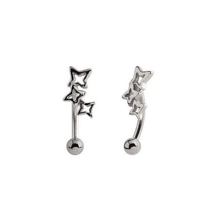 barre pli e 1 2 mm acier 316l 3 toiles mbnsc 6 catalogue bijoux piercing. Black Bedroom Furniture Sets. Home Design Ideas