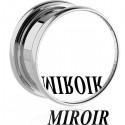 Plug avec miroir pour oreille acier 316L gros diamètre TN 20