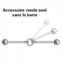Accessoire anneau pour bijou pour industriel en acier 316L IND 10
