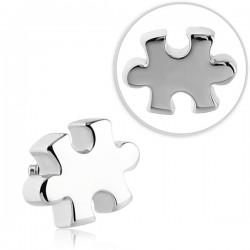 Embout puzzle pour micro dermal acier 316L TIADT 04