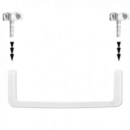 Barre droite coudée, agrafe pour implant bioflex à clipser 1,6 mm du 10 mm au 22 mm de longueur BIOST-PINS
