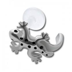 Labret Bioflex ® pour contour oreille salamandre / lézard acier à clipper BOLBKTC 08