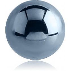 Boule titane anodisé G23 à visser 1,6 mm ATB