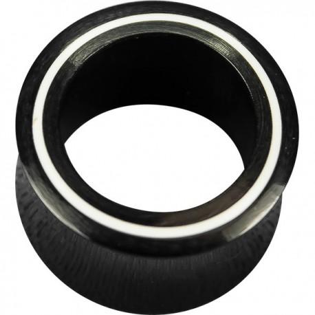 Tunnel incurvé cercle blanc oreille corne gros diamètre IPN 22