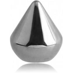 Embout boule pic acier 316L, à visser 1,6 mm DC