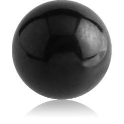 Boule acier noir à visser 1,6 mm BKB