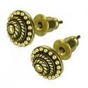 Boucles d'oreille laiton forme rond ethnique ESBX 27
