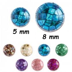 Boule mosaique à visser 1,6 mm BM