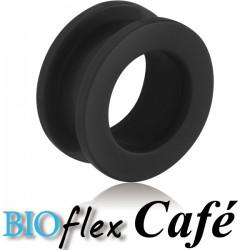 Tunnel oreille bioflex parfumé café gros diamètre ABT 01