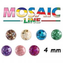 Boule mosaique à visser 1,2 mm MBM