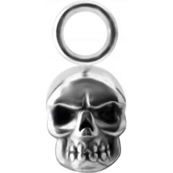 Accessoire crâne pour personnaliser bijoux en acier chirurgical ABH 08