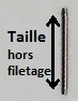 Taille barre