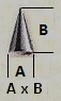 Taille pic / cone